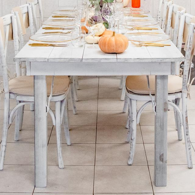 Where to find Hillier Harvest Table 8 x3  - White Wash in Toronto