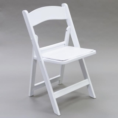 Rental store for Chair Folding - White Resin in Toronto Ontario