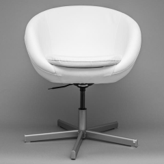 Rental store for Chair Swivel - White Leather in Toronto Ontario