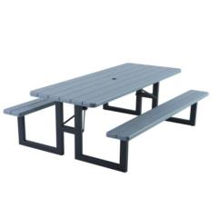 Rental store for Grey Plastic Picnic Table in Toronto Ontario