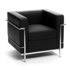 Rental store for Corbusier Black Chair in Toronto Ontario