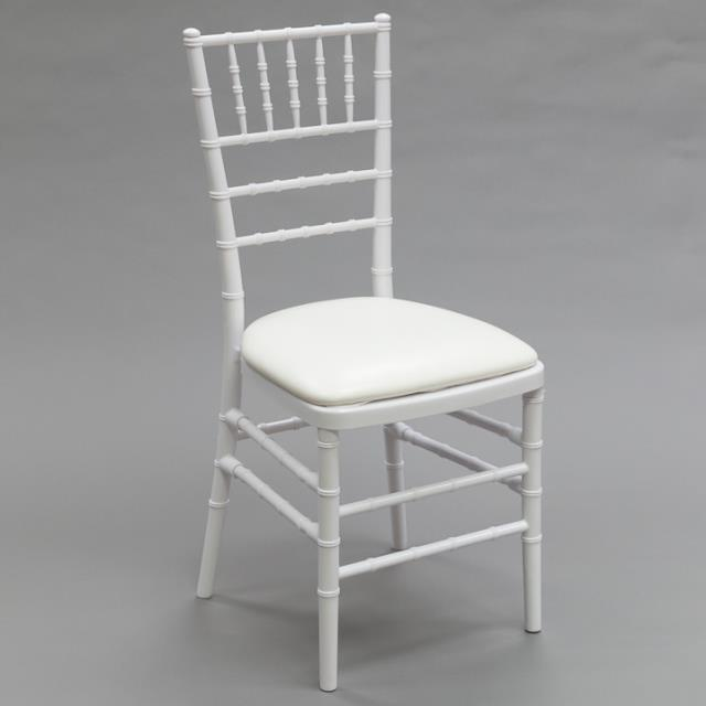 Where to find Chair Chiavari - White Resin in Toronto