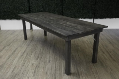 Rental store for Hillier Harvest Table 8 x3  - Black Wash in Toronto Ontario