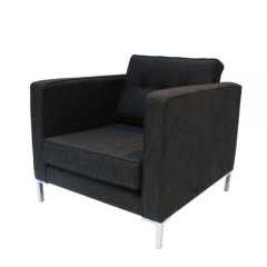 Rental store for Lounge Chair Albert Charcoal in Toronto Ontario