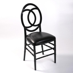 Rental store for Chair Chiavari Curve - Black Resin in Toronto Ontario