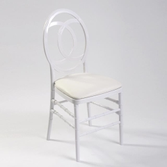 Rental store for Chair Chiavari Curve - White Resin in Toronto Ontario