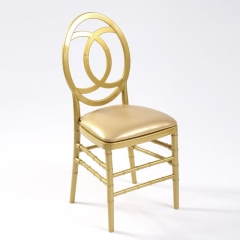 Rental store for Chair Chiavari Curve - Gold Resin in Toronto Ontario