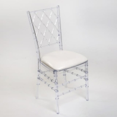 Rental store for Chair Chiavari Diamond - Clear Resin in Toronto Ontario