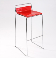 Rental store for Bar Stool - Red, Low Back in Toronto Ontario