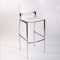 Rental store for Bar Stool - White Leather in Toronto Ontario