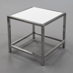 Rental store for End Table, Plexi - White 20  Square in Toronto Ontario