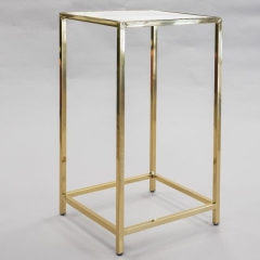 Rental store for Table Cruiser Plexi Gold Frame 24  White in Toronto Ontario