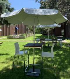 Rental store for Square Wood Topped Cruiser with Umbrella in Toronto Ontario