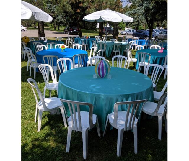 Rent Tables - Patio